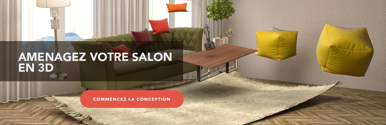 Configurez votre salon en 3D